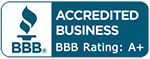 Accredited Business BBB logo